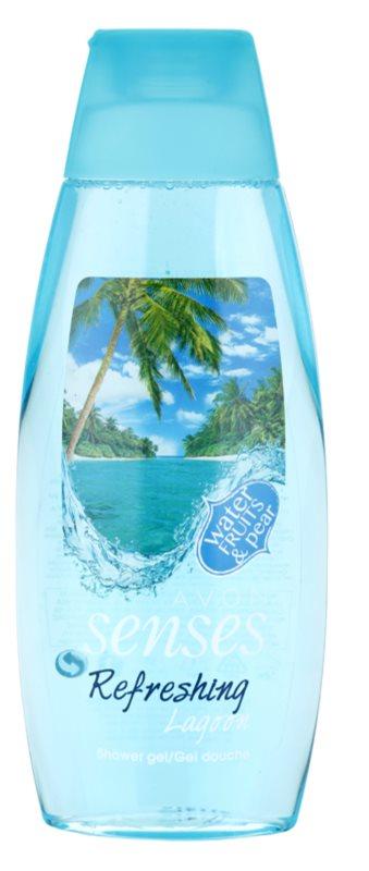 Avon Senses Lagoon Clean and Refreshing felfrissítő tusfürdő gél