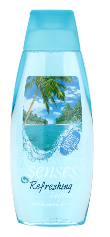 Avon Senses Lagoon Clean and Refreshing osvježavajući gel za tuširanje
