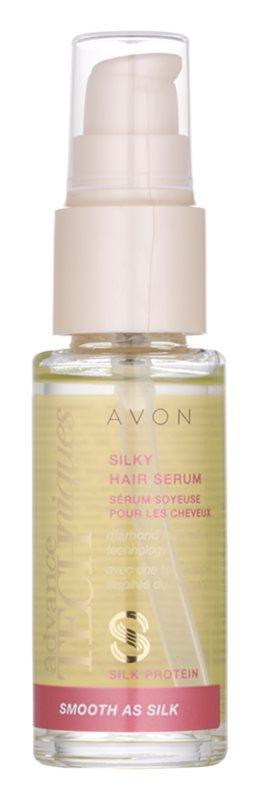 Avon Advance Techniques Smooth As Silk Serum for Silky Soft Hair