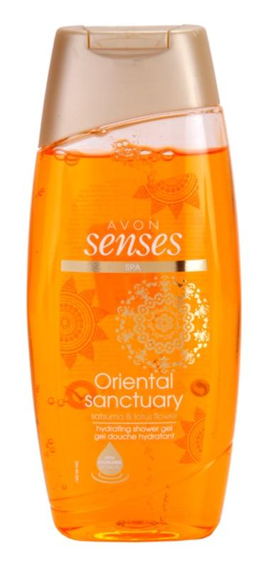 Avon Senses Oriental Sanctuary feuchtigkeitsspendendes Duschgel