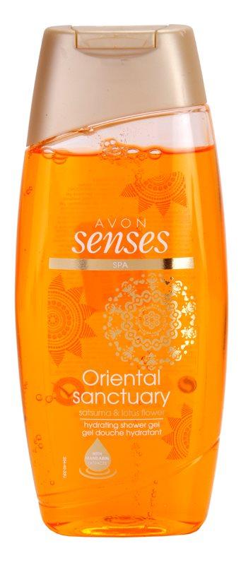 Avon Senses Oriental Sanctuary hydratační sprchový gel
