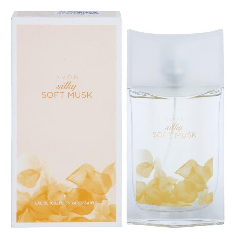 Avon Silky Soft Musk Eau de Toilette Damen 50 ml