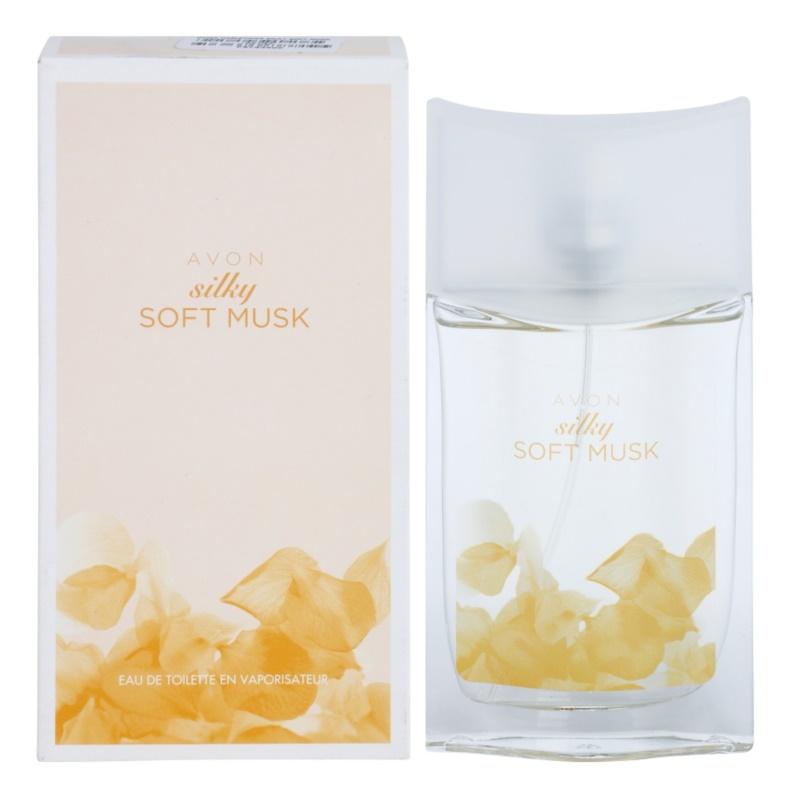 Avon Silky Soft Musk eau de toilette pentru femei 50 ml