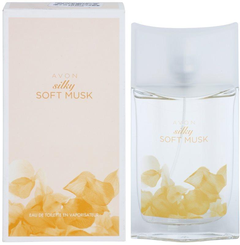 Avon Silky Soft Musk Eau de Toillete για γυναίκες 50 μλ
