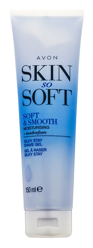 Avon Skin So Soft Smooth Silky Stay Shave Gel