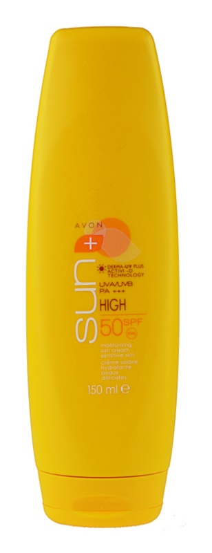 Avon Sun ενυδατική αντηλιακή κρέμα  SPF 50