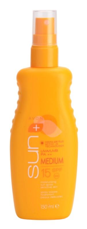 Avon Sun hydratační mléko na opalování SPF 15