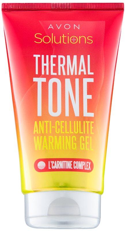 Avon Solutions Thermal Tone gel anticelulítico con efecto calor