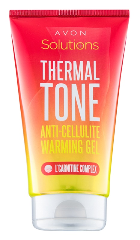 Avon Solutions Thermal Tone hřejivý gel proti celulitidě