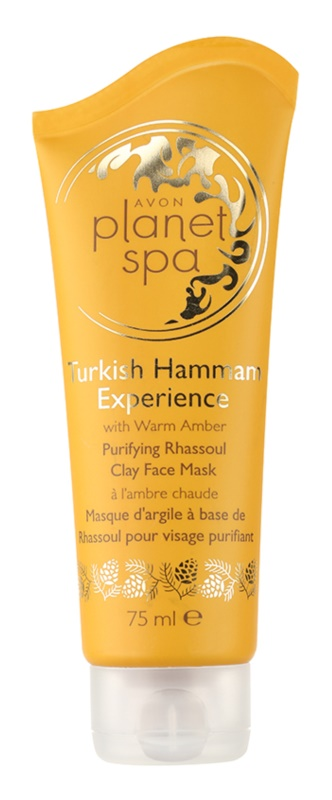 Avon Planet Spa Turkish Hammam Experience maschera detergente viso