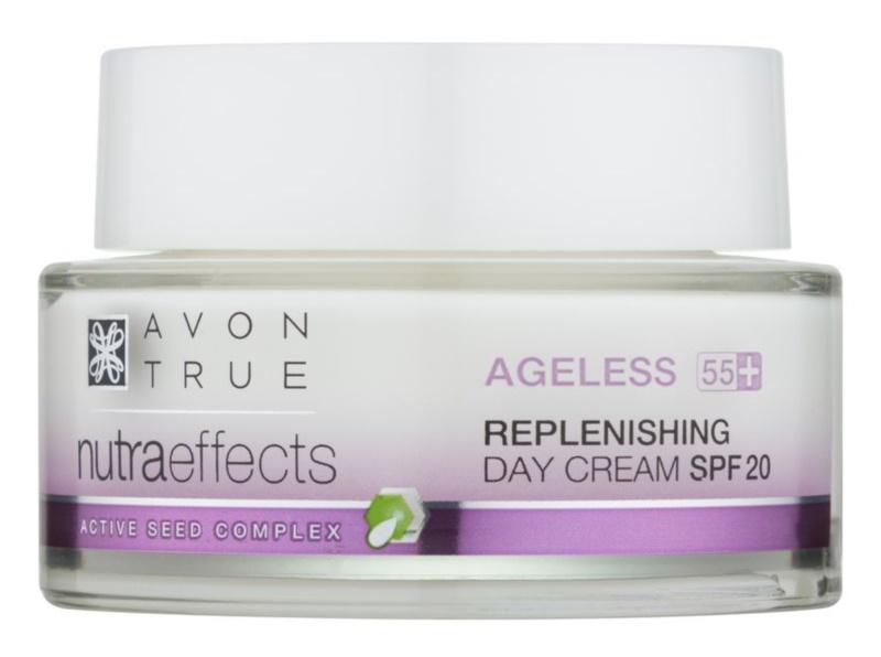 Avon True NutraEffects dnevna krema za pomlađivanje SPF 20