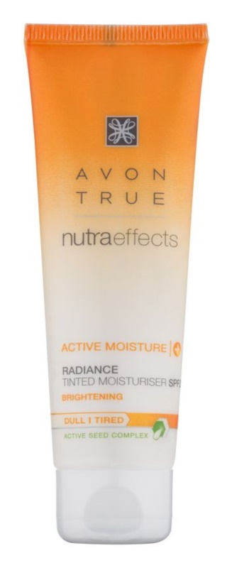 Avon True NutraEffects aufhellende, tönende Tagescreme SPF 20