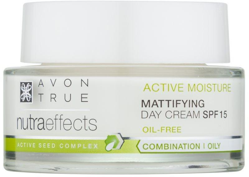 Avon True NutraEffects dnevna krema za pomlađivanje SPF 15