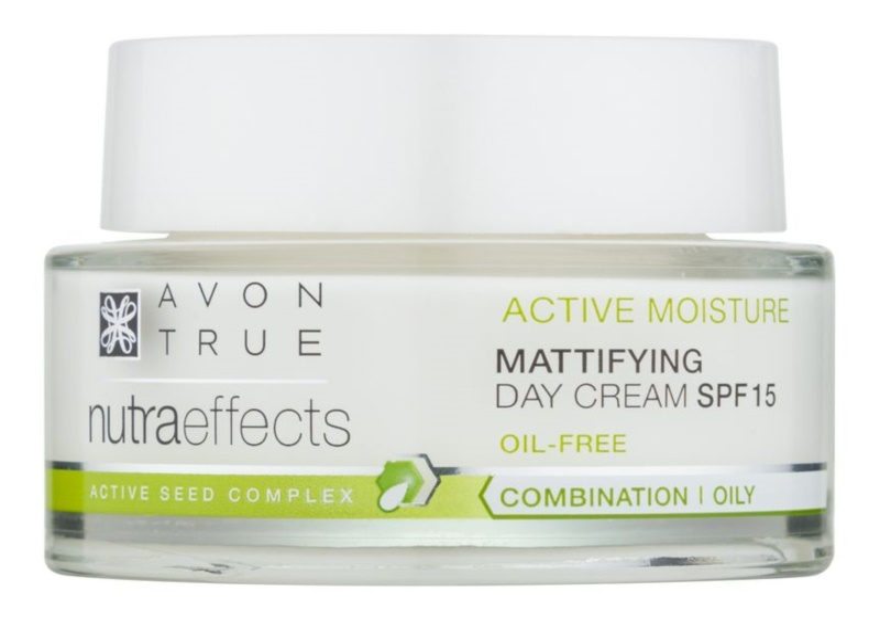Avon True NutraEffects fiatalító nappali krém SPF15