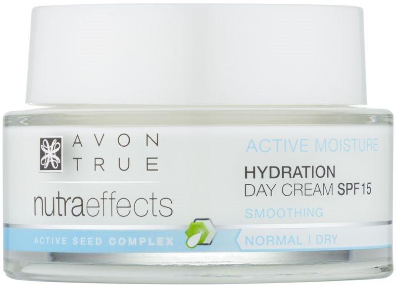 Avon True NutraEffects hidratáló nappali krém SPF 15