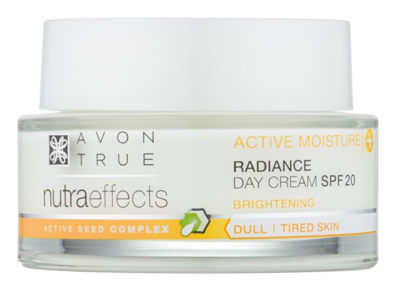 Avon True NutraEffects crema giorno illuminante SPF 20