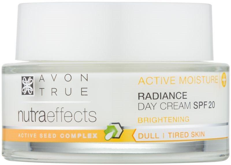 Avon True NutraEffects rozjasňující denní krém SPF 20