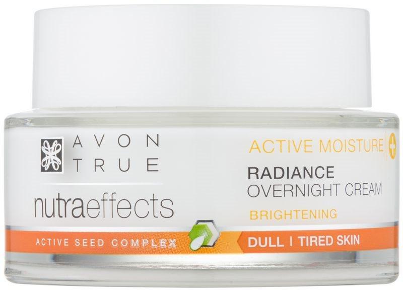Avon True NutraEffects creme de noite iluminador