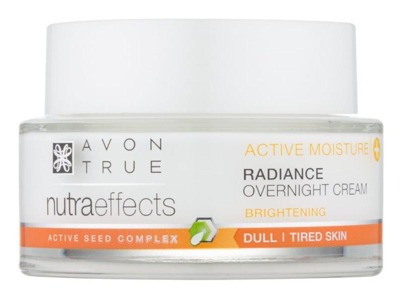 Avon True NutraEffects освітлюючий нічний крем