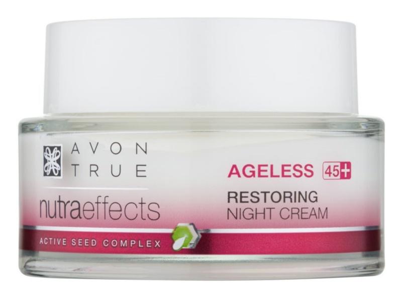 Avon True NutraEffects нічний крем з омолоджуючим ефектом