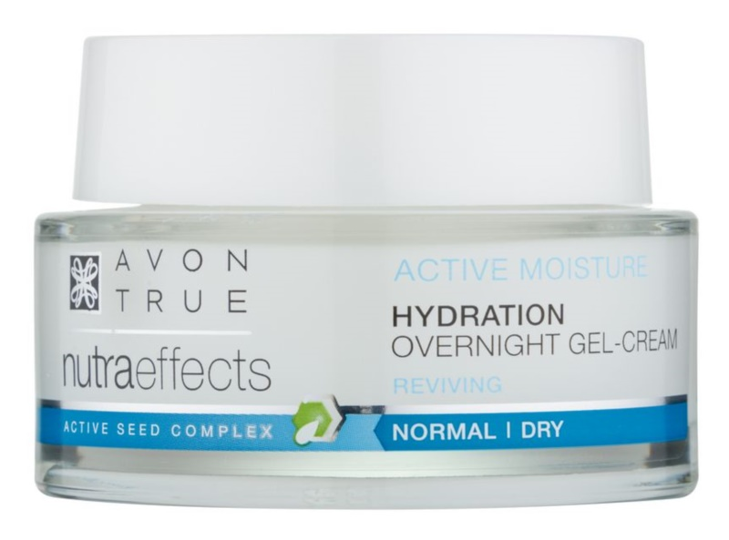 Avon True NutraEffects Moisturising and Smoothing Night Gel Cream
