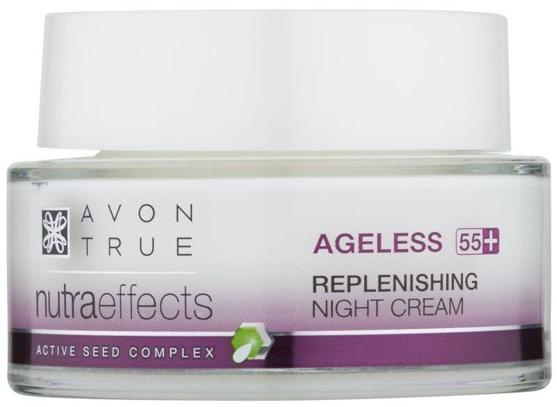 Avon True NutraEffects crème de nuit rajeunissante pour la régénération de la peau