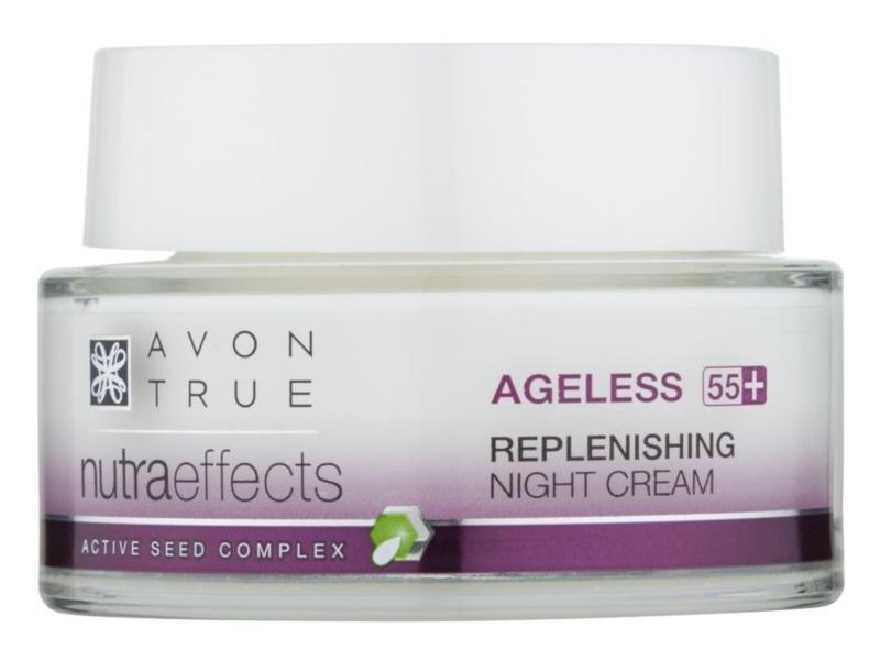 Avon True NutraEffects fiatalító éjszakai krém a bőr regenerációjára