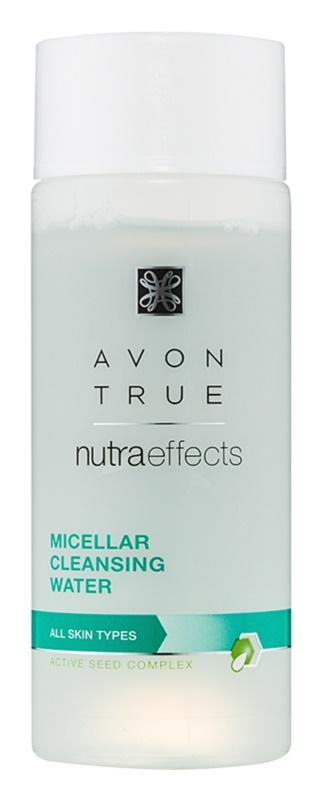 Avon True NutraEffects eau micellaire nettoyante pour tous types de peau