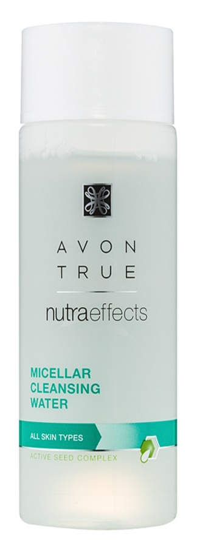 Avon True NutraEffects micelarna voda za čišćenje za sve tipove lica