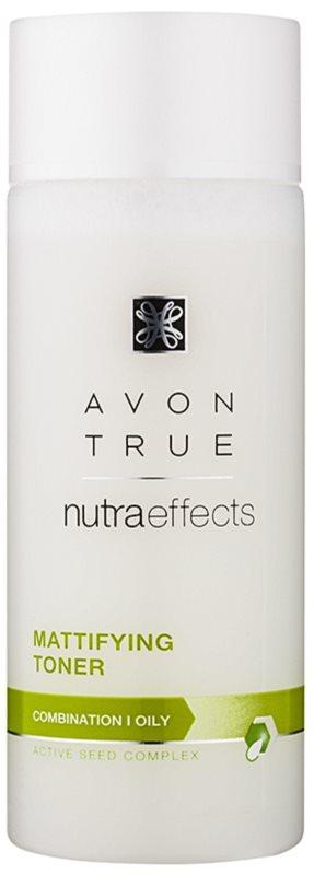 Avon True NutraEffects lotiune matifianta pentru ten mixt si gras