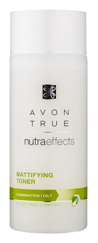 Avon True NutraEffects тонізуюча вода з матуючим ефектом для комбінованої та жирної шкіри