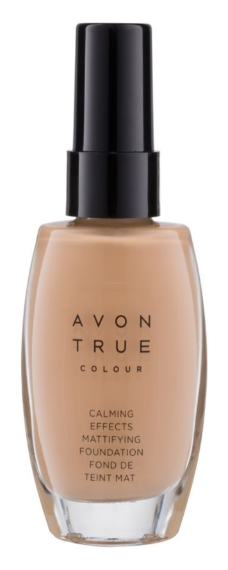 Avon True Colour machiaj calmant pentru un aspect mat