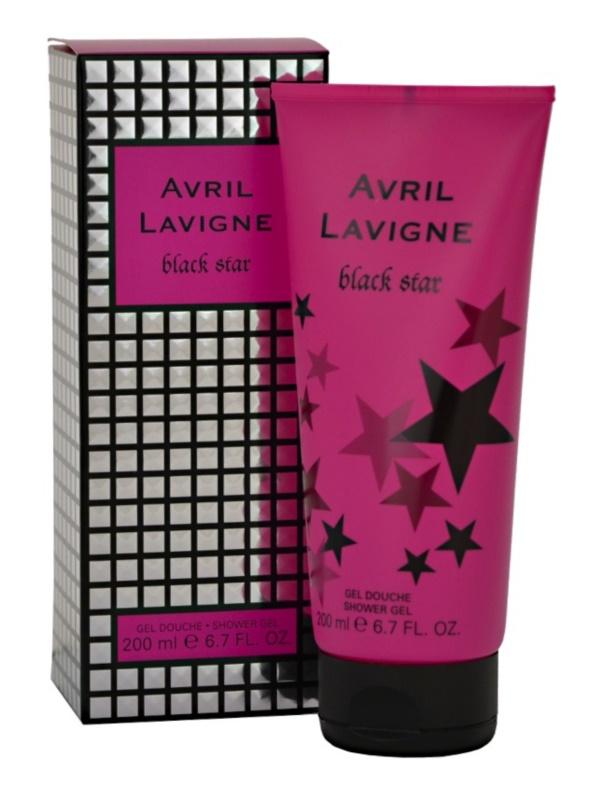 Avril Lavigne Black Star Shower Gel for Women 200 ml