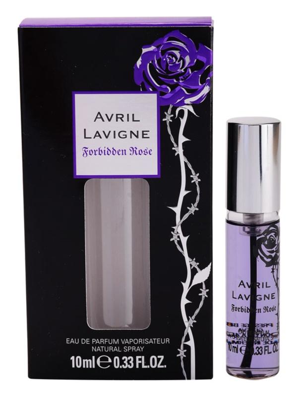 Avril Lavigne Forbidden Rose eau de parfum per donna 10 ml