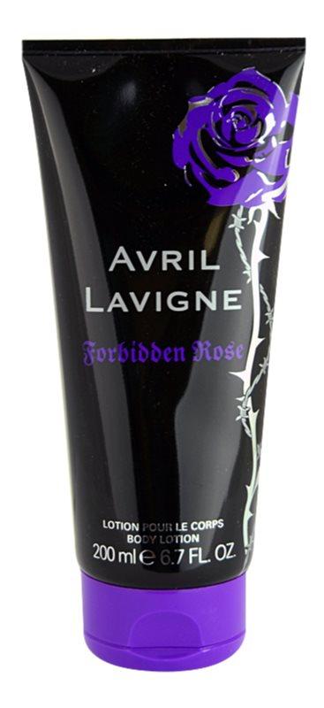 Avril Lavigne Forbidden Rose Body Lotion for Women 200 ml