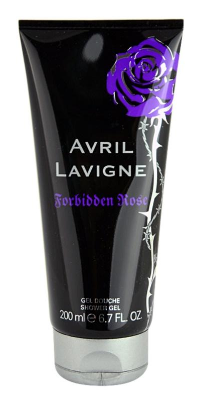 Avril Lavigne Forbidden Rose sprchový gel pro ženy 200 ml