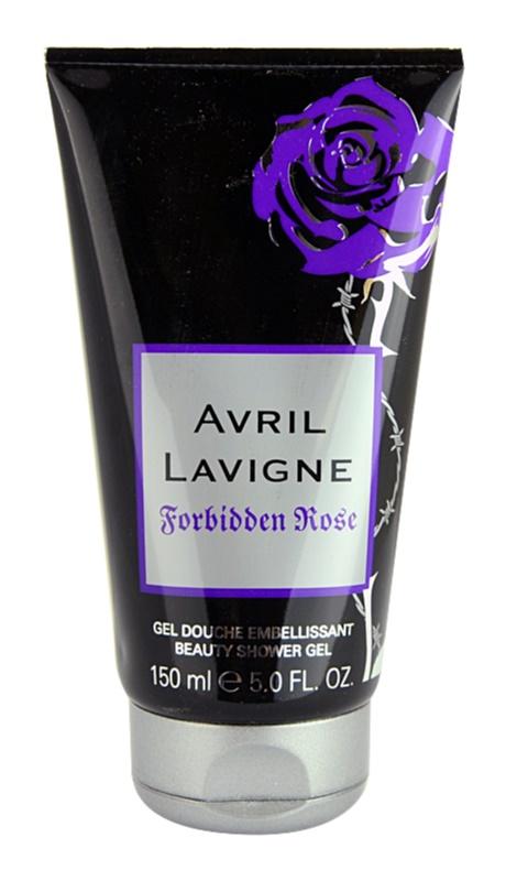 Avril Lavigne Forbidden Rose gel de dus pentru femei 150 ml