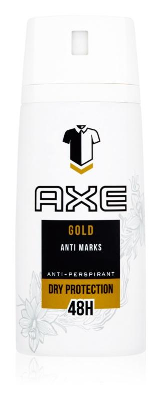 Axe Gold antiperspirant v pršilu 48 ur