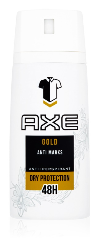 Axe Gold Antiperspirants for Men 150 ml Antiperspirant Spray 48h