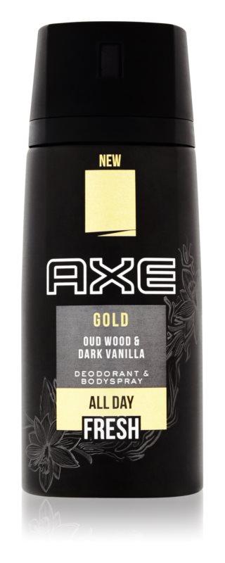 Axe Gold Deo Spray voor Mannen 150 ml