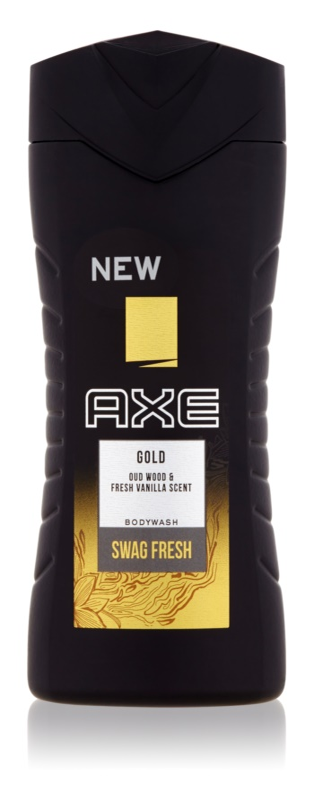 Axe Gold gel de dus pentru bărbați 250 ml