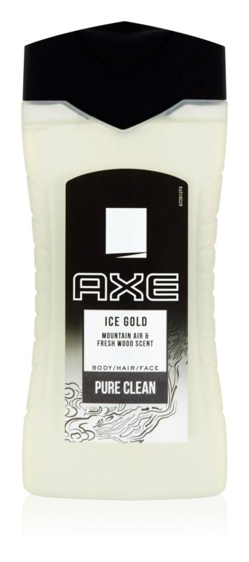 Axe Ice Gold gel de dus pentru barbati 250 ml