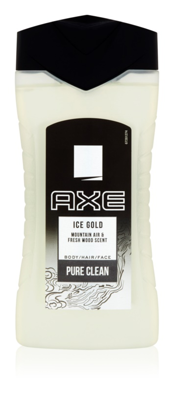 Axe Ice Gold gel douche pour homme 250 ml