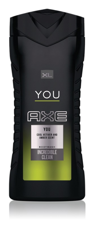 Axe You Douchegel voor Mannen 400 ml