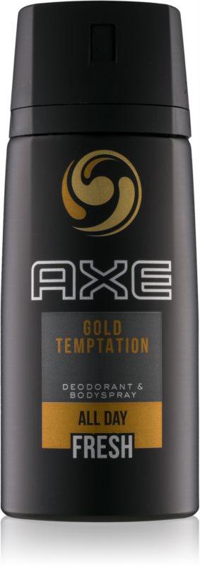 Axe Gold Temptation deodorante e spray corpo