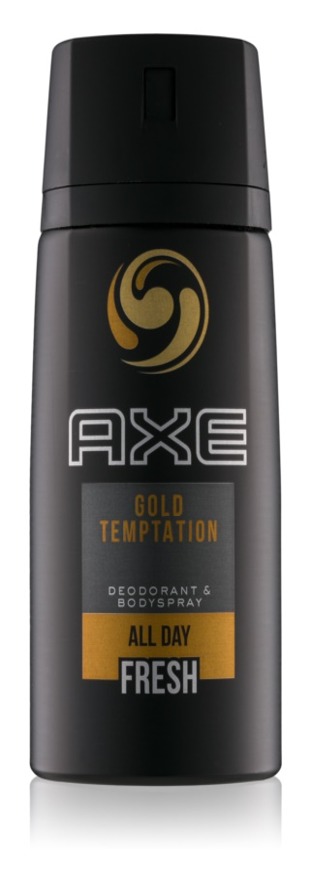 Axe Gold Temptation dezodorant in pršilo za telo