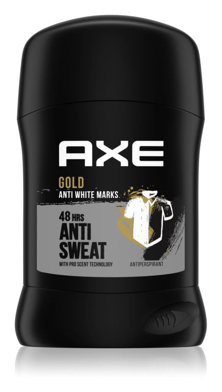Axe Gold antiperspirant