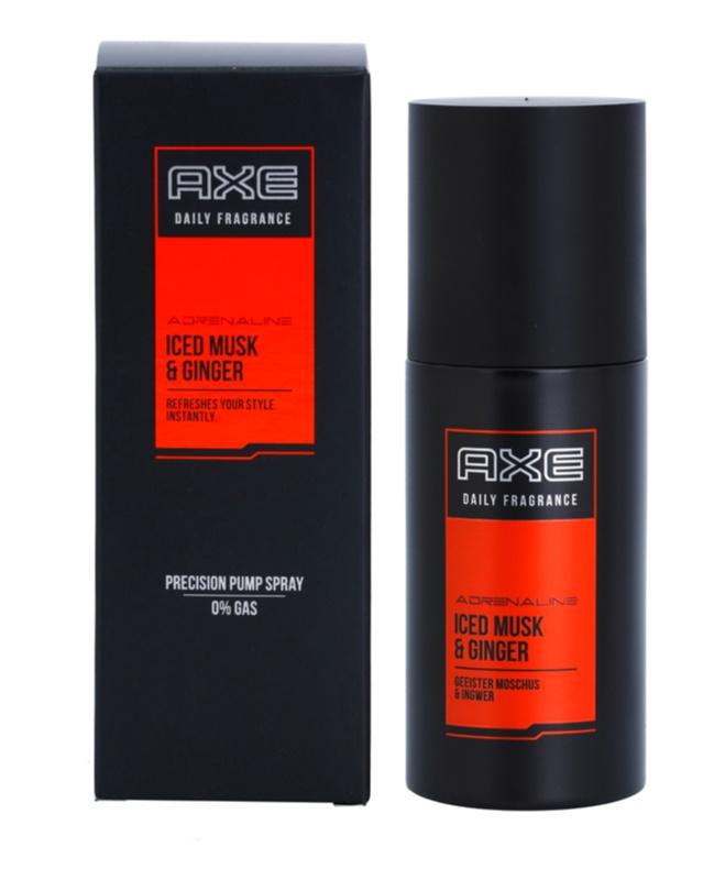 Axe Adrenaline Iced Musk and Ginger Body Spray for Men 100 ml