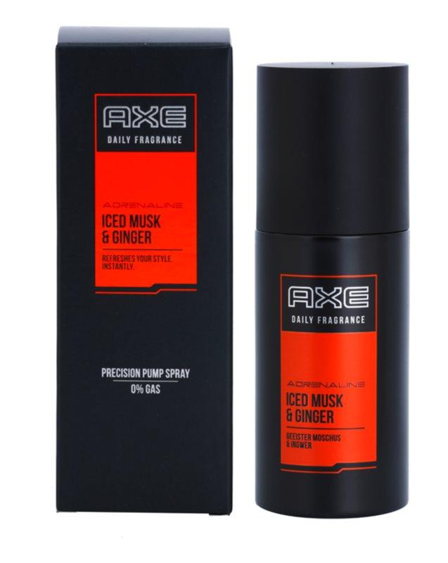 Axe Adrenaline Iced Musk and Ginger Körperspray für Herren 100 ml