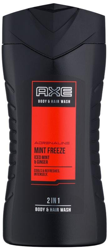 Axe Mint Freeze Τζελ για ντους για άνδρες 250 μλ